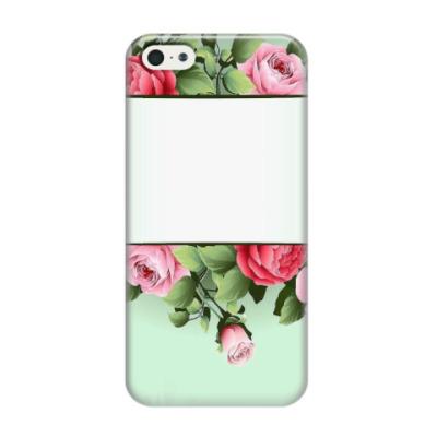Чехол для iPhone 5/5s цветочное окно