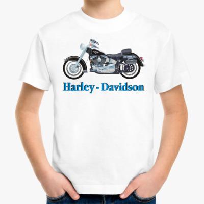 Детская футболка 'Harley - Davidson'
