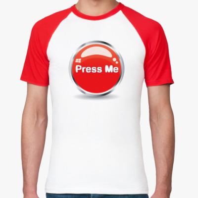 Футболка реглан Press me