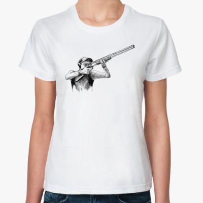 Классическая футболка Стрельба