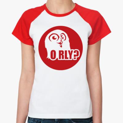 Женская футболка реглан orly