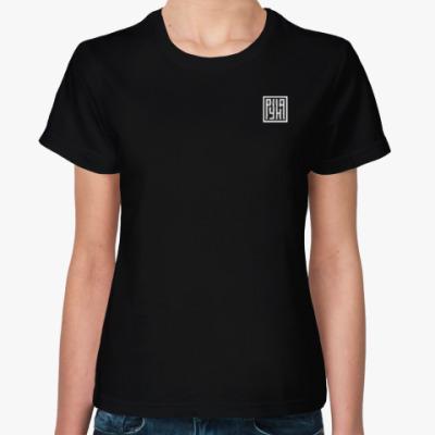 Женская футболка группа РУНА