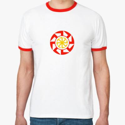 Футболка Ringer-T Солнцеворот
