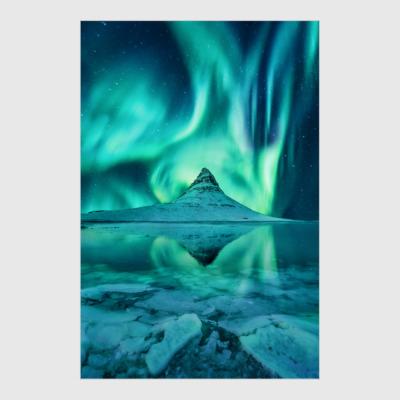 Постер Iconic Icelandic Aurora