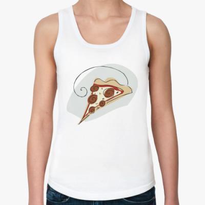 Женская майка Кусочек пиццы