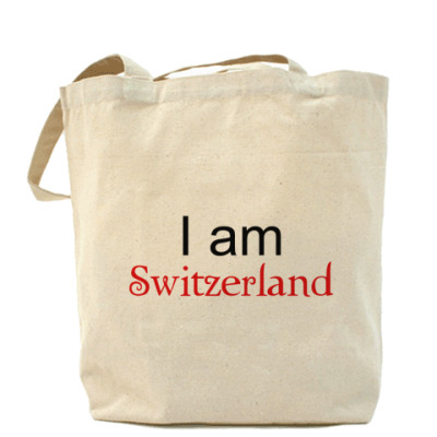 Сумка I am Switzerland