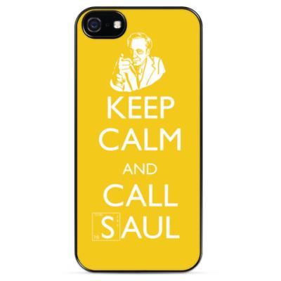 Чехол для iPhone KEEP CALM AND CALL SAUL