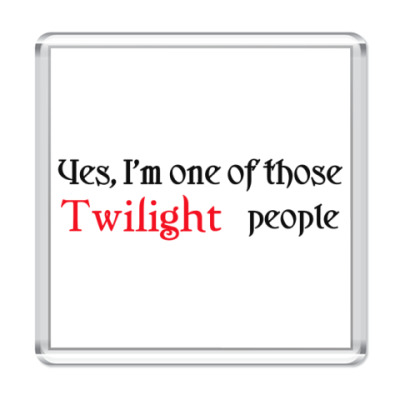 Магнит  Twilight people