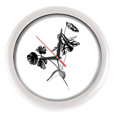 Настенные часы Аквилегия