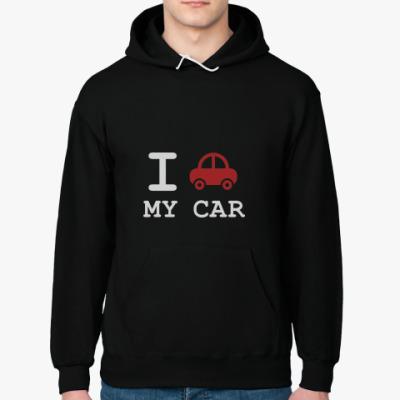 Толстовка худи I love my car