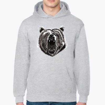Толстовка худи Медведь