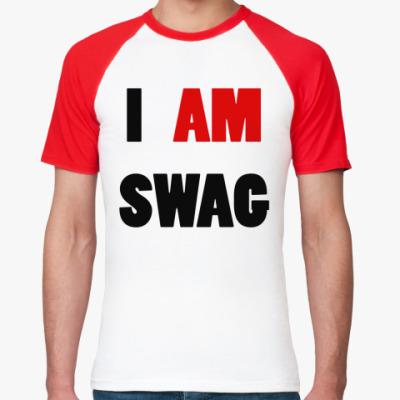 Футболка реглан I am swag