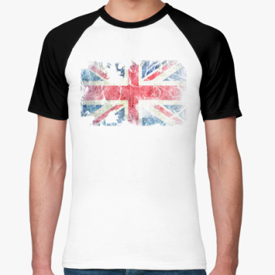 Футболка реглан British flag