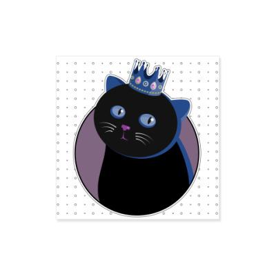 Виниловые наклейки Его величество Кот