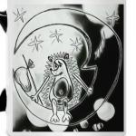 Ежик на луне