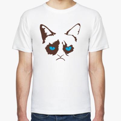 Футболка Кот Тард - grumpy cat
