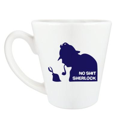 Чашка Латте Шерлок