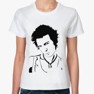 Классическая футболка  Sid Vicious