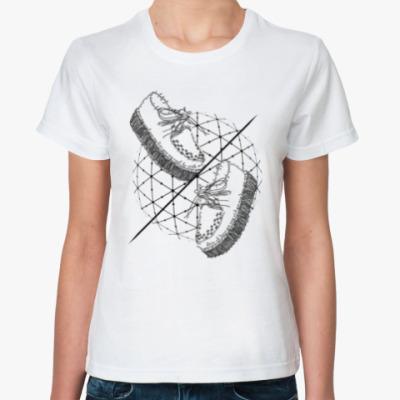Классическая футболка Слова и фразы - твои шаги!