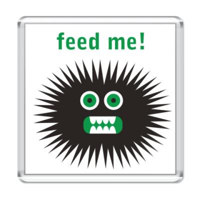 Магнит Feed me!