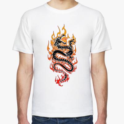 Футболка дракон