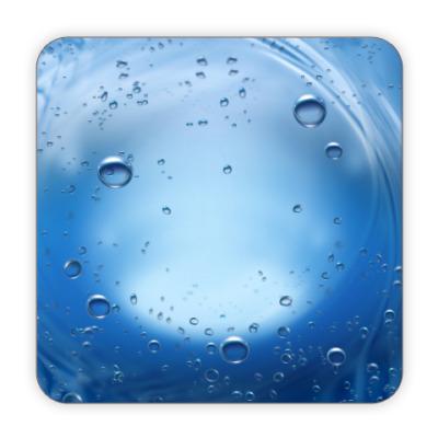 Костер (подставка под кружку) Вода
