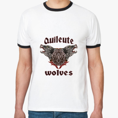 Футболка Ringer-T Quileute wolves