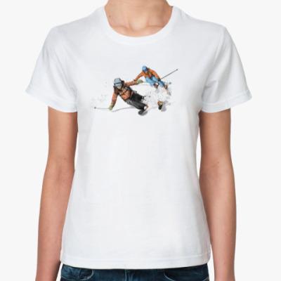Классическая футболка Лыжницы