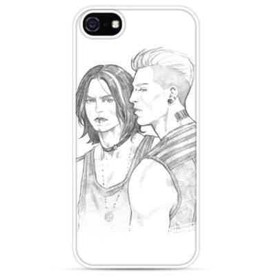 Чехол для iPhone Steve Rogers / Bucky Barnes