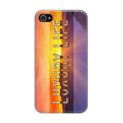 Чехол для iPhone 4/4s  Luxury Life