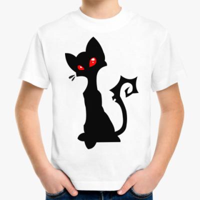 Детская футболка Гламурная кошечка