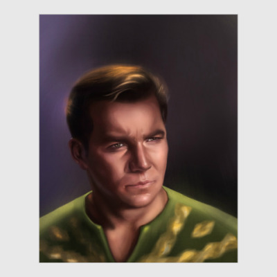 Постер Star Trek: captain James Kirk
