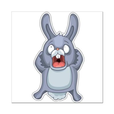 Наклейка (стикер) Кролик