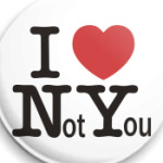 I Love Not You