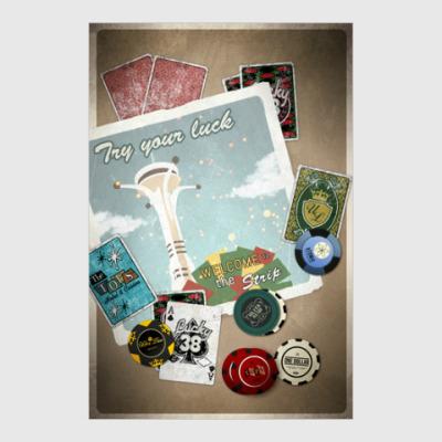 Постер Fallout: New Vegas
