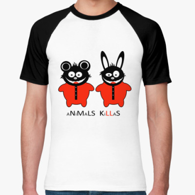 Футболка реглан Animals Killas