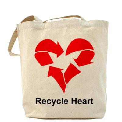 Сумка Recycle Heart