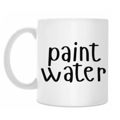 Кружка paint water