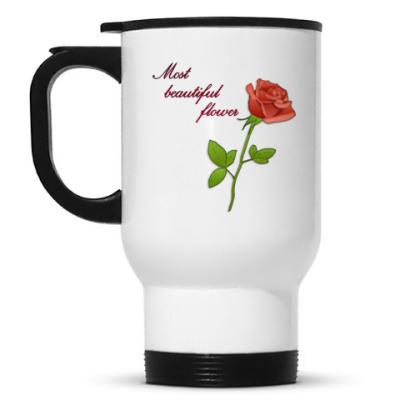 Кружка-термос Rose