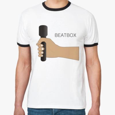 Футболка Ringer-T Beatbox