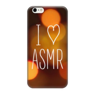 Чехол для iPhone 6/6s Я люблю ASMR (ночь)
