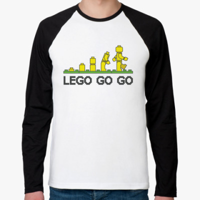 Футболка реглан с длинным рукавом Lego go