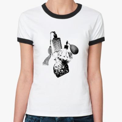 Женская футболка Ringer-T винтажные духи