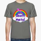 Классическая футболка Death Metal