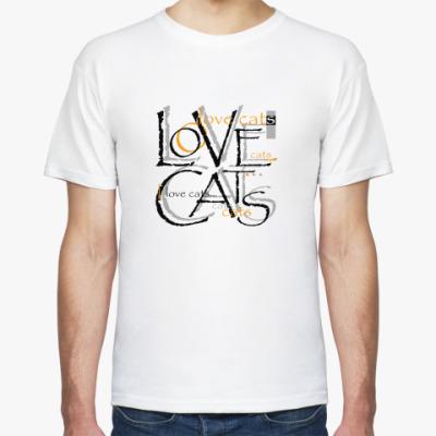 Футболка Люблю кошек