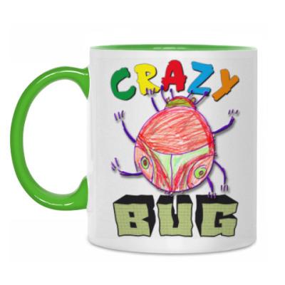 Кружка Crazy BUG