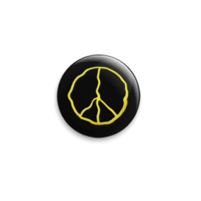 Значок 25мм Peace