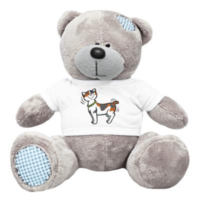 Плюшевый мишка Тедди Кот-котофеич