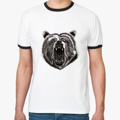 Футболка Ringer-T Медведь