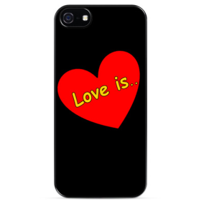 Чехол для iPhone love is